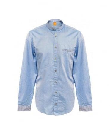 Hugo Boss Blue EmixE Granded Collar 50259368 Shirt