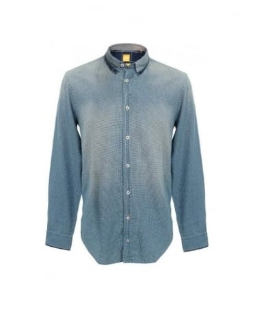 Hugo Boss Blue Emotione Slim Fit Shirt 50259381