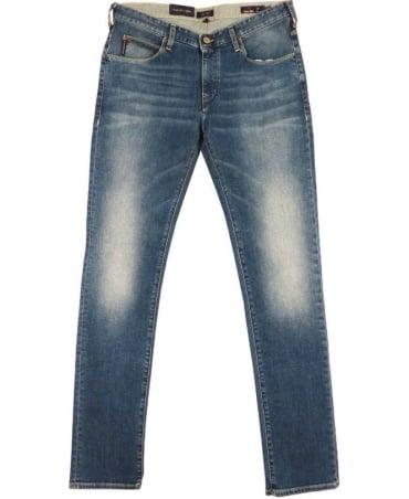 Armani Blue Extra Slim Fit J10 Jeans