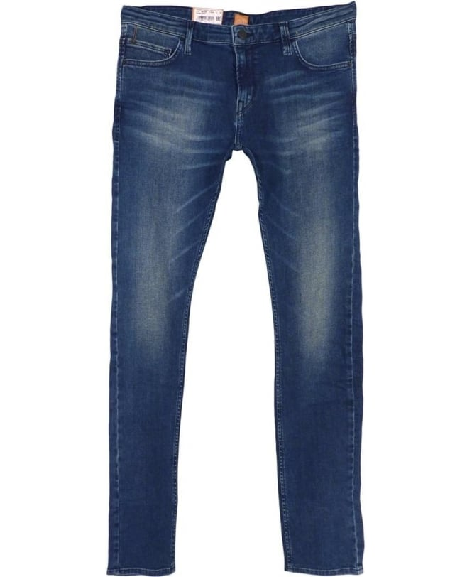 Hugo Boss Blue Extra Slim Fit Orange71 Stretch Jeans