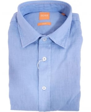 Hugo Boss Blue ExtremeE Slim Fit Casual Shirt