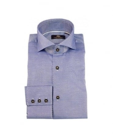 Circle of Gentlemen Blue Fabrice 4719 Shirt