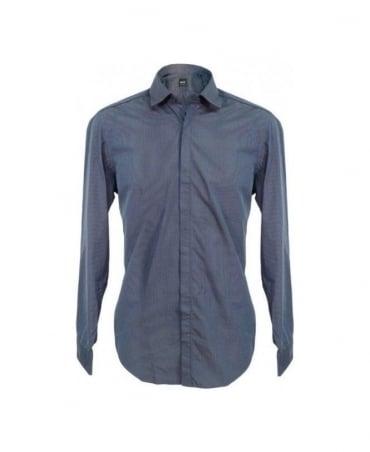 Hugo Boss Blue Fine Stripe Robert 50253368 Shirt