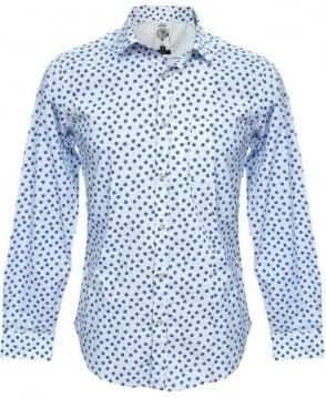 Diesel Blue Floral Smansi Shirt