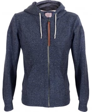 Replay Blue Full Zip Hooded Sweatshirt