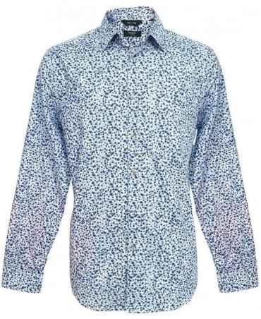 Paul Smith - London Blue Gents Formal The Byard Shirt PKXL/916M/F72