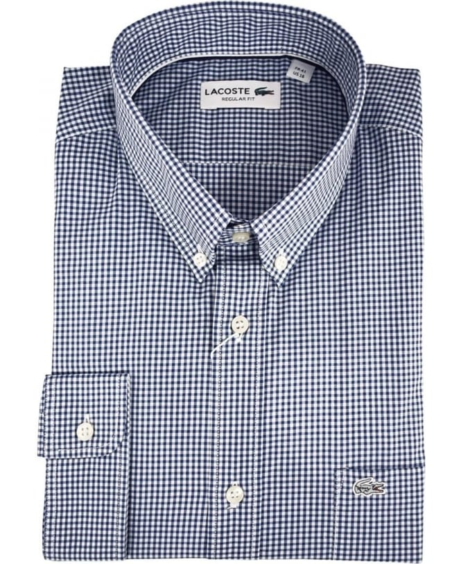 Lacoste Blue Gingham CH3975 Shirt
