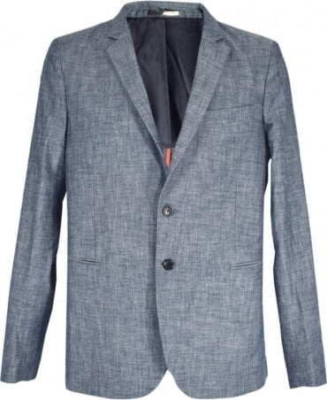 PS By Paul Smith Blue / Grey Two Button PSXD-1707-443 Jacket