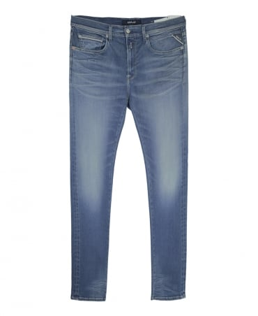 Replay Blue Hyperflex Grover Jeans