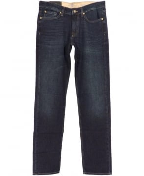 7 For All Mankind Blue Ice Slimmy Jeans