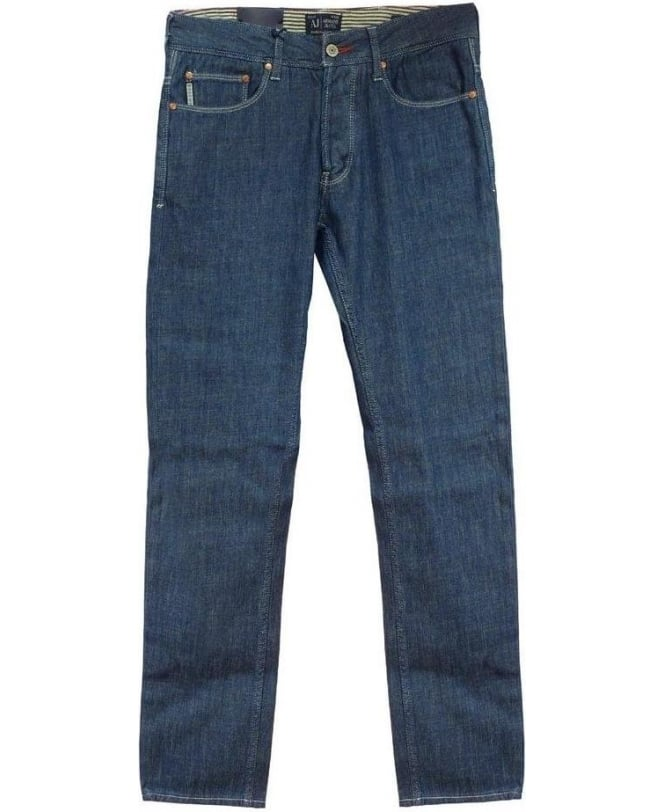 Armani Blue J04 Slim Fit Jeans