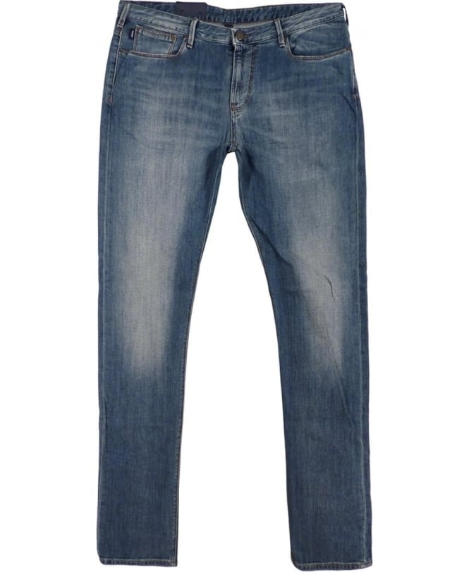 Armani Blue J06J833R Slim Fit Jean