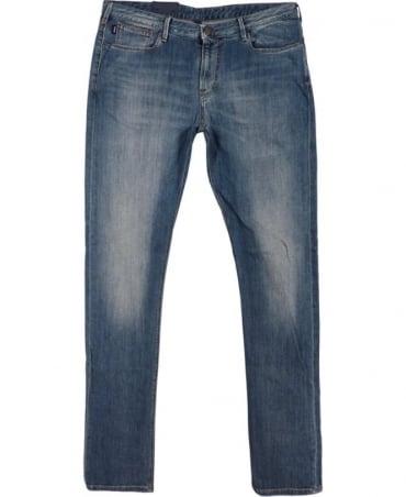 Armani Blue J06J833R Slim Fit Jean