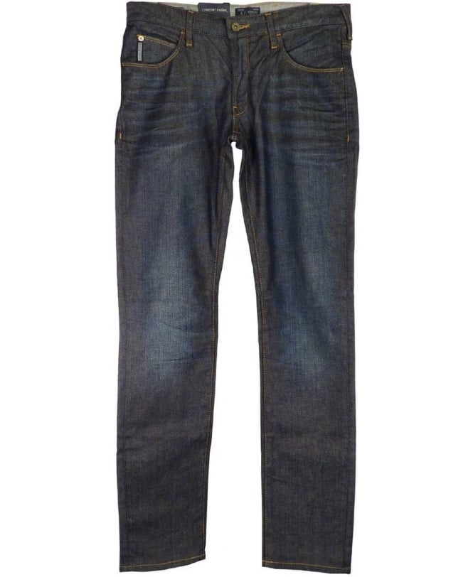Armani Blue J10 Extra Slim Fit Jeans