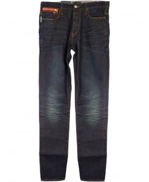 Armani Jeans Blue J16 Low Crotch Antifit Jeans