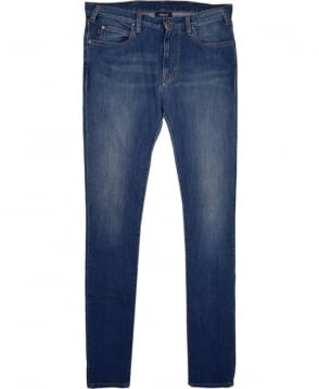 Armani Jeans Blue J45 Slim Fit Jean