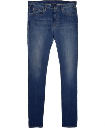 Armani Jeans Blue J45 Slim Fit Jean