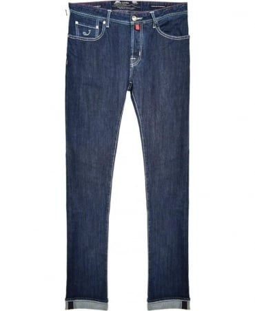 Jacob Cohen Blue J622 Comf Fit Hand Made Jeans