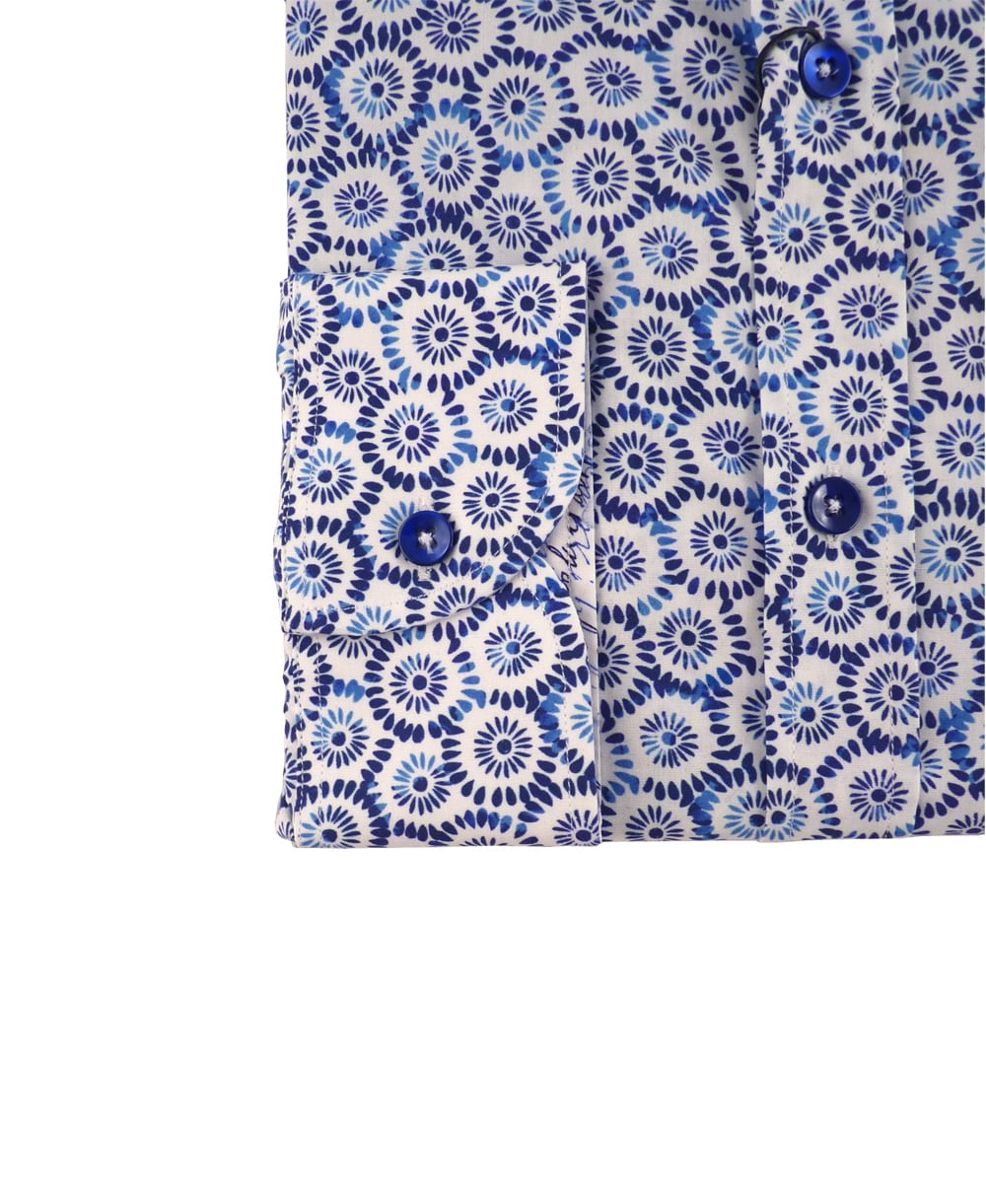 1 ...Like No Other Blue Japanese Floral Print 2954S Nikko ...