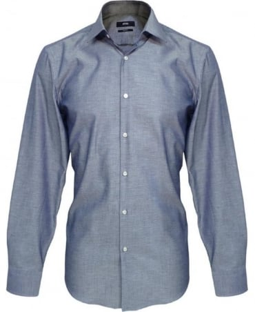 Hugo Boss Blue Jenno Slim Fit Shirt 50260228