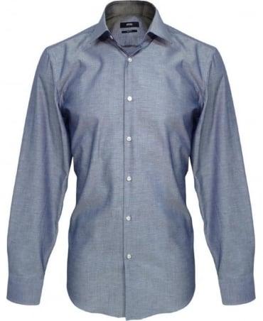 Hugo Boss Blue Jenno Slim Fit Shirt 50260228