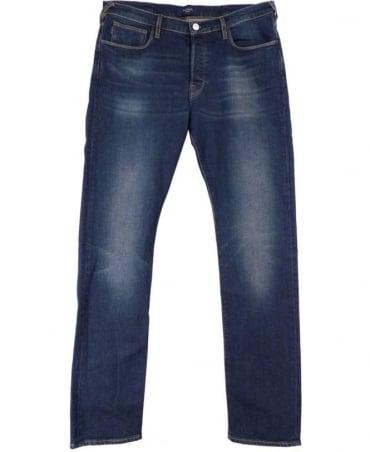 Paul Smith - Jeans Blue JNPJ/301M/A08 Taper Fit Five Pocket Jean