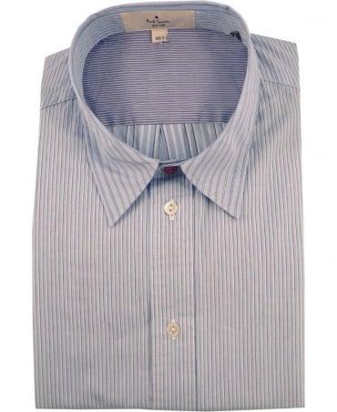Paul Smith - Red Ear Blue JNRJ-236P-B85 Mixed Stripe Shirt