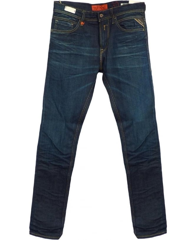 Replay Blue Jondrill Skinny Fit Jeans