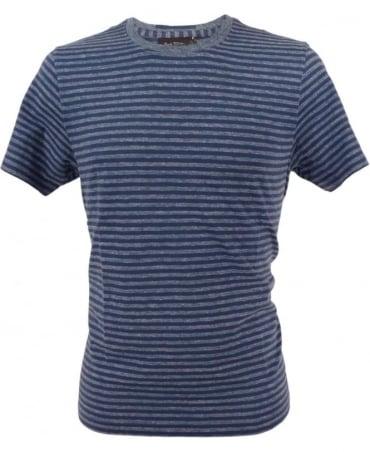 Paul Smith - Jeans Blue JPFJ-586P-D49 Stripe Crew T-shirt