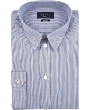 Paul Smith - Jeans Blue JPFJ-767P-D39 Stripe Shirt