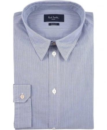 Paul Smith - Jeans Blue JPFJ-767P-D39 Stripe Shirt