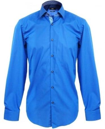 Hugo Boss Blue Juri Slim Fit Shirt 50259982