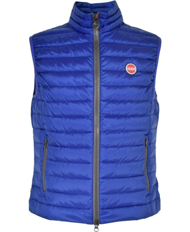 Colmar Originals Blue Lightweight Quilted Gilet
