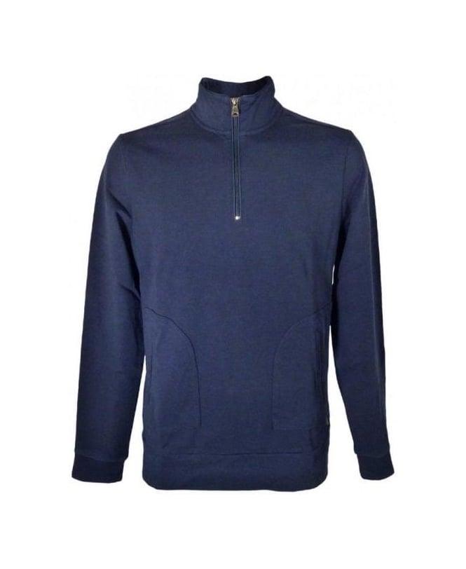 hugo boss blue liscia 09 sweatshirt hugo boss from. Black Bedroom Furniture Sets. Home Design Ideas