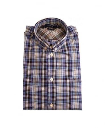Paul Smith - Jeans Blue LS Classic Fit Shirt