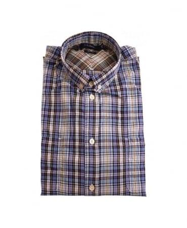 Paul Smith - Jeans Blue LS Classic Fit Shirt