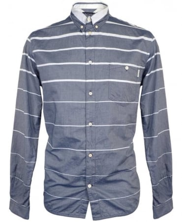 Paul Smith - Jeans Blue LS tailored fit shirt