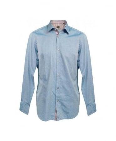 Hugo Boss Blue Lucas_11 50253420 Regular Fit Shirt