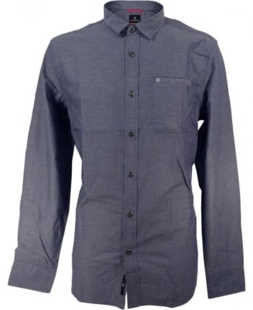 Victorinox Blue M50123 Alba Chambray Shirt
