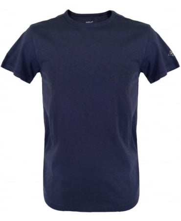 Replay Blue M6283 Crew Neck T-Shirt