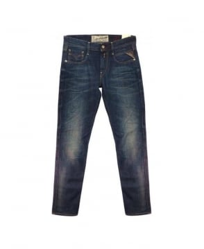 Replay Blue M914K Anbass Jeans