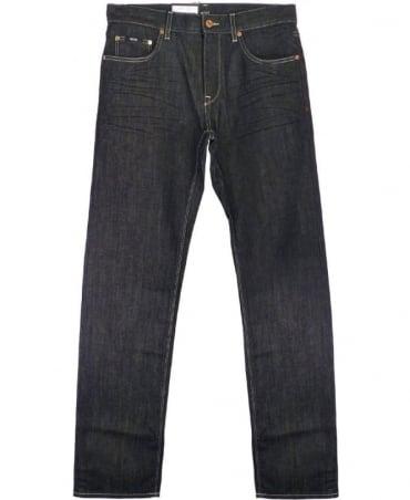 Hugo Boss Blue Maine Regular Fit Jeans