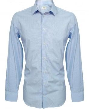 Armani Collezioni Blue NCC53 Slim Fit Shirt