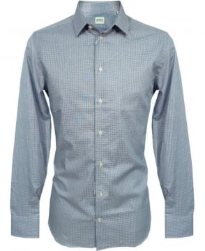 Armani Blue NCC65 Slim Fit Shirt