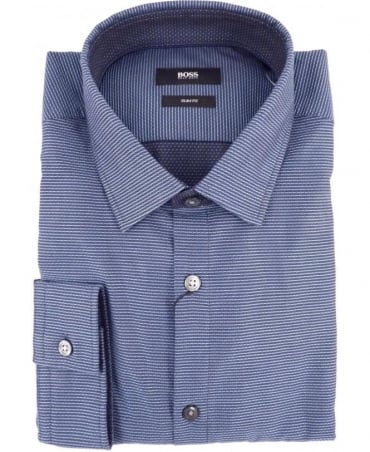 Hugo Boss Blue Nemos_6 Slim Fit Shirt