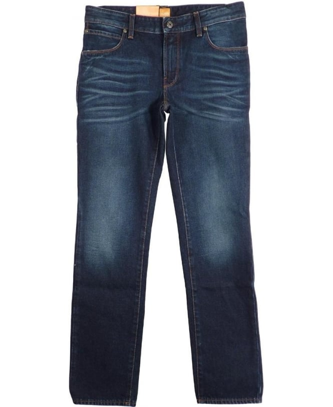Hugo Boss Blue Orange 83 Slim Fit Jeans