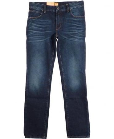 Hugo Boss Blue Orange 83 Slim Fit Jeans