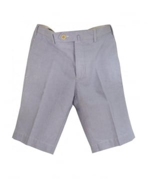 Hackett Blue Oxford Amalfi Shorts