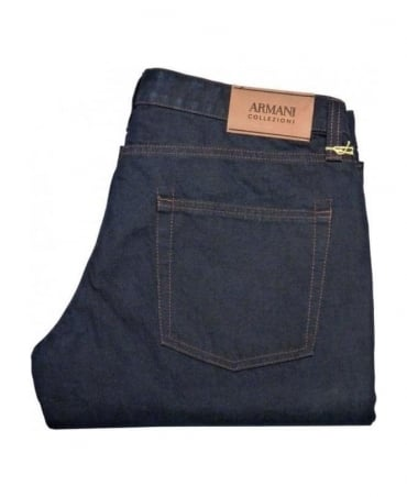Armani Blue P40 Regular Fit Jeans