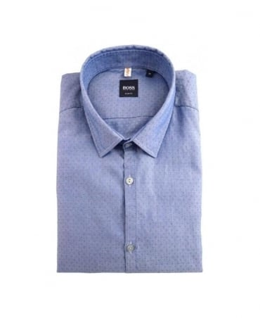 Hugo Boss Blue Pancho_1 Slim Fit Shirt
